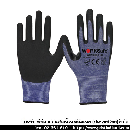 ถุงมือ Nitrile Micro Cut Level C Gloves